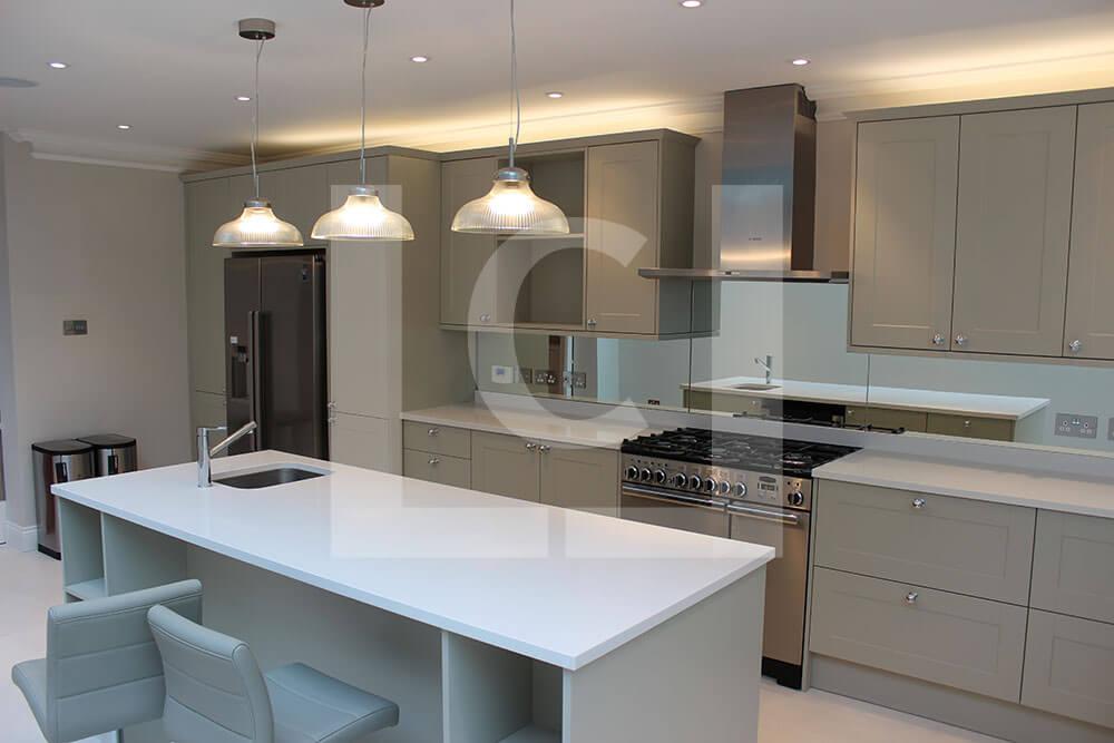 Kitchen interior Fulham kitchen extension service