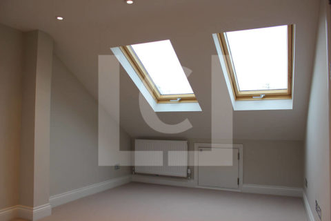 Interior of extension Fulham loft conversion