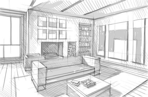 Loft Conversion Sketch