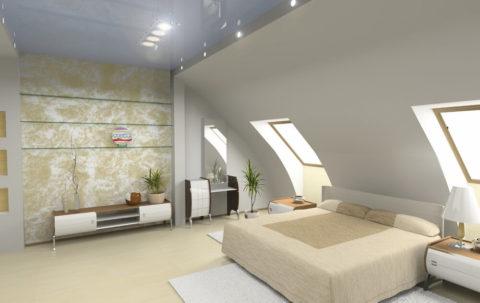 Balham Loft conversion Interior Shot
