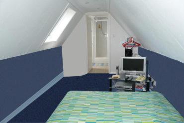 loft conversion companies in London blue design 1