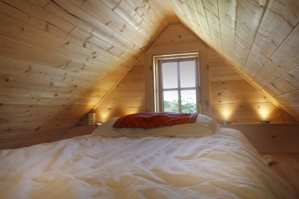 Low budget bed only loft conversion