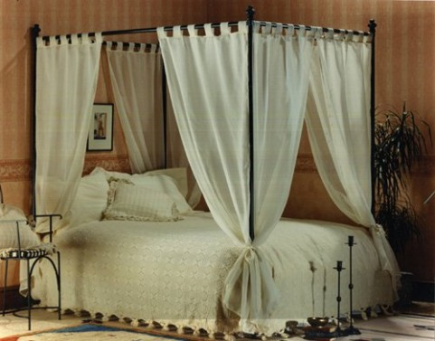 voile drapes