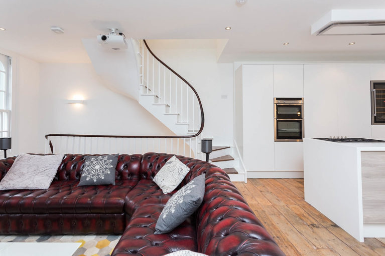 Islington Loft conversion Open Plan