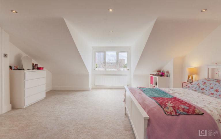 Master bedroom lewisham loft conversion