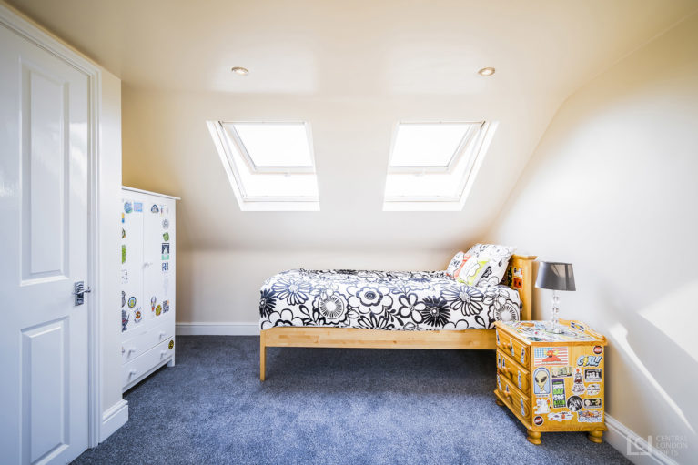 Master ensuite london loft conversion in Cockfosters