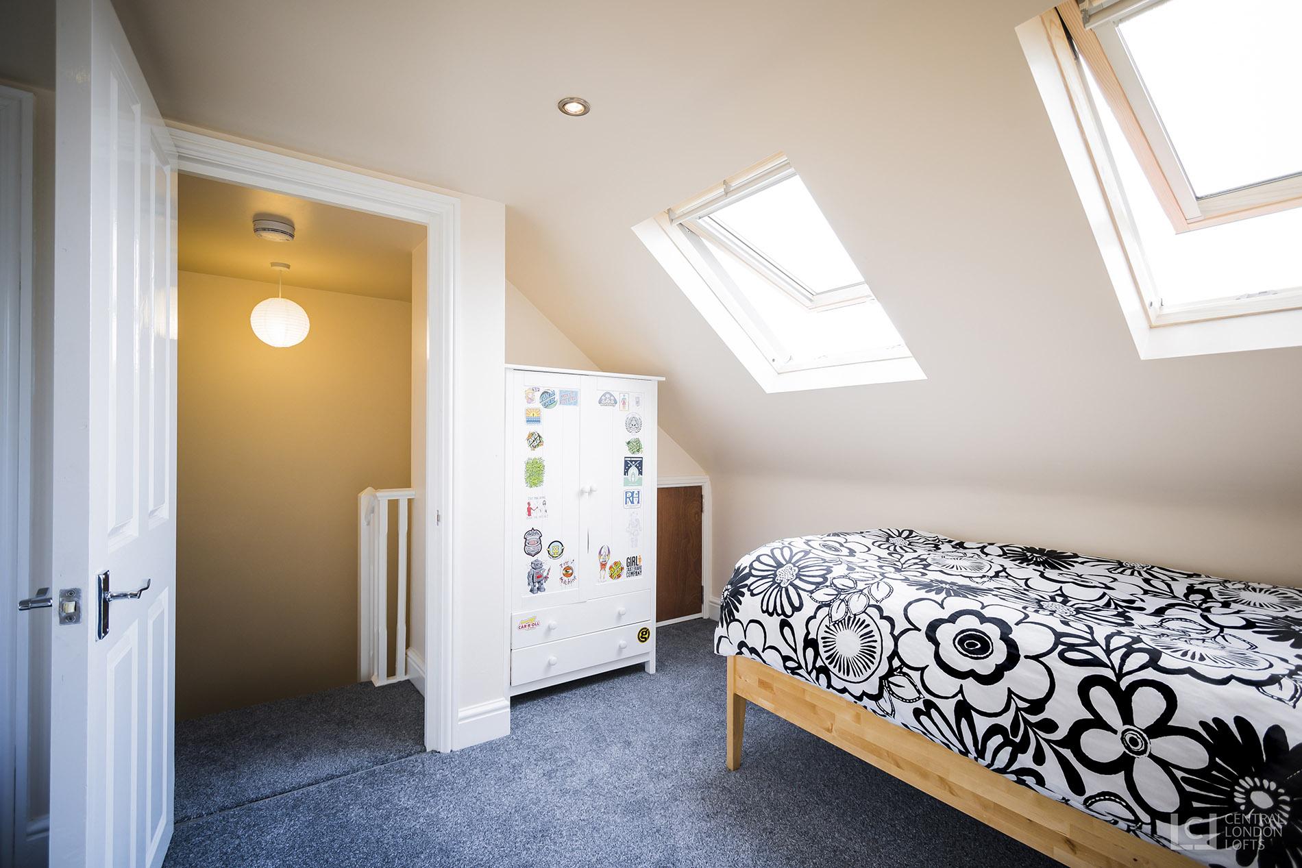 terraced loft conversion in north london