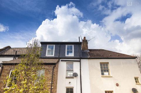 small loft conversion in Shoreditch, London