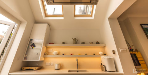 Forest Hill kitchen extension skylights