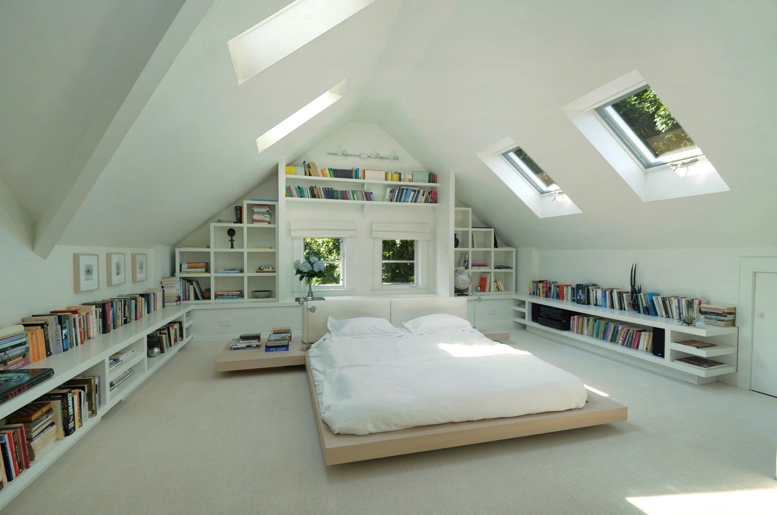 Minimal Eaves loft bedroom conversion