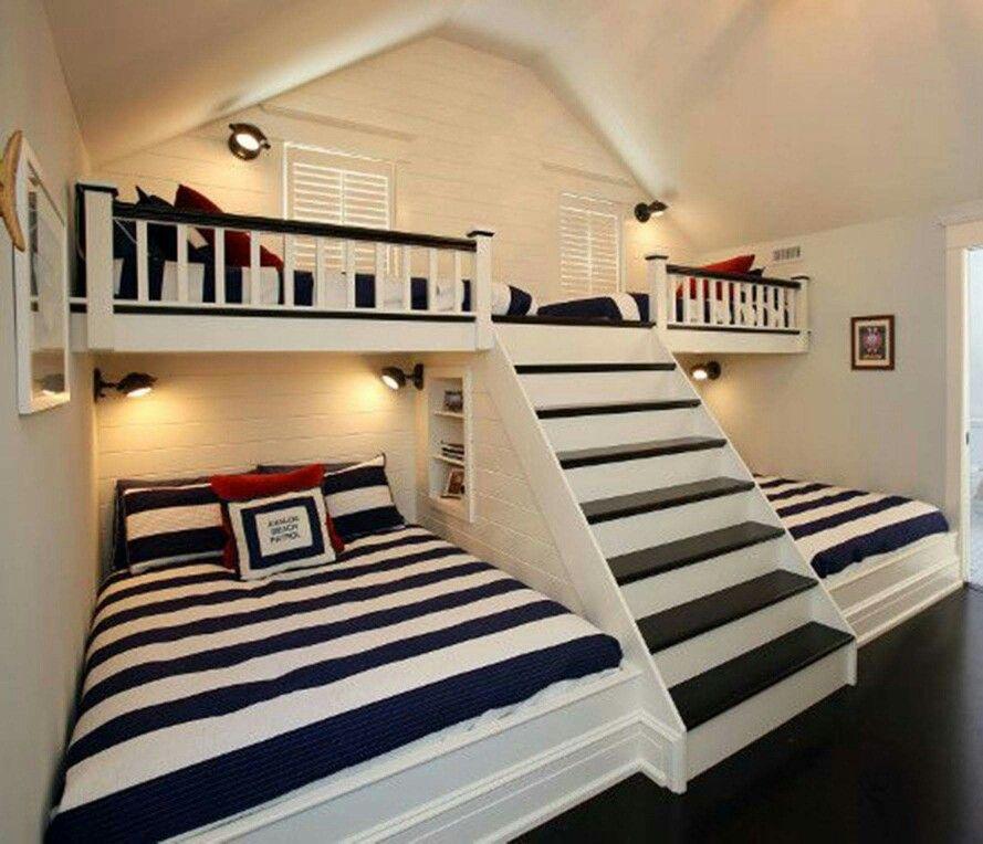 boys' attic bedrooms
