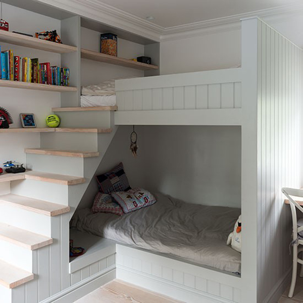Compact boys' bedroom