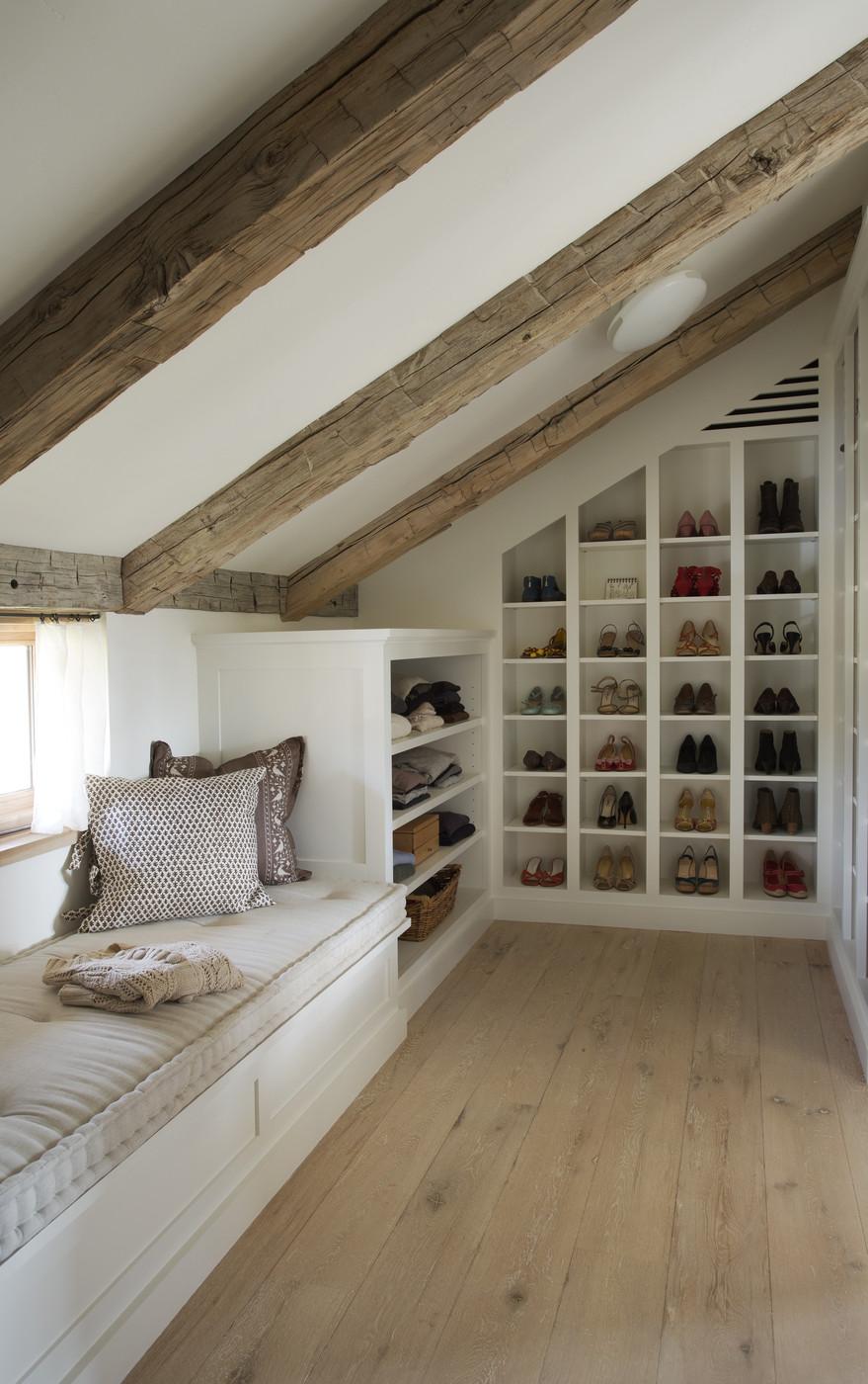 Luxury eaves conversion storage