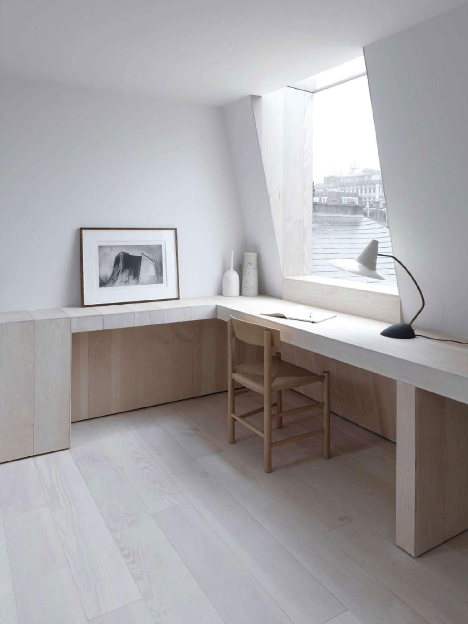 London loft conversion office space inspiration