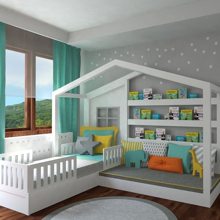 young boy loft bedroom design