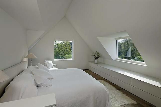 White Eaves Conversion Design