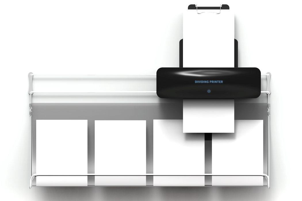 dividing printer