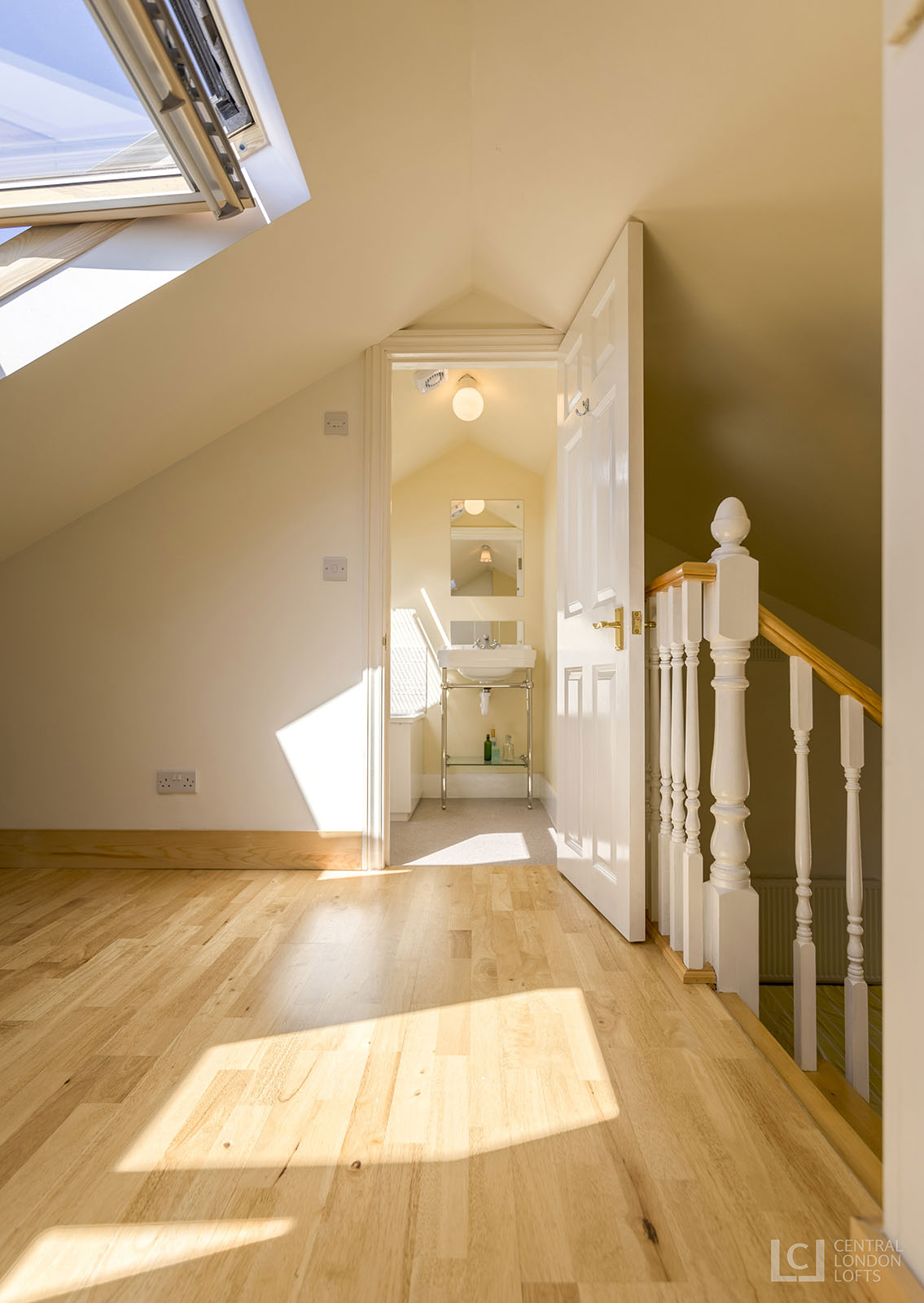 Central London Lofts two floor conversion