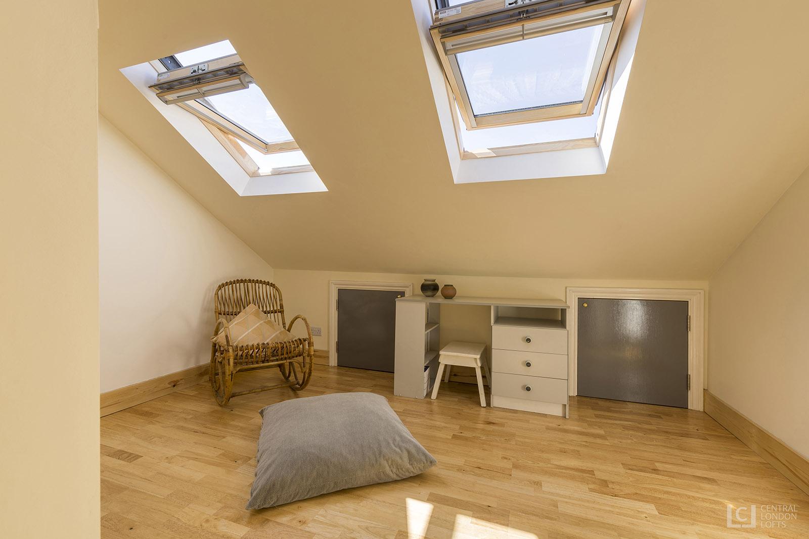 Two floor loft conversion tooting bec