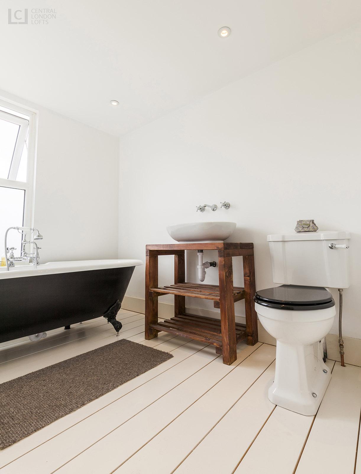 Lewisham loft conversion ensuite bathroom