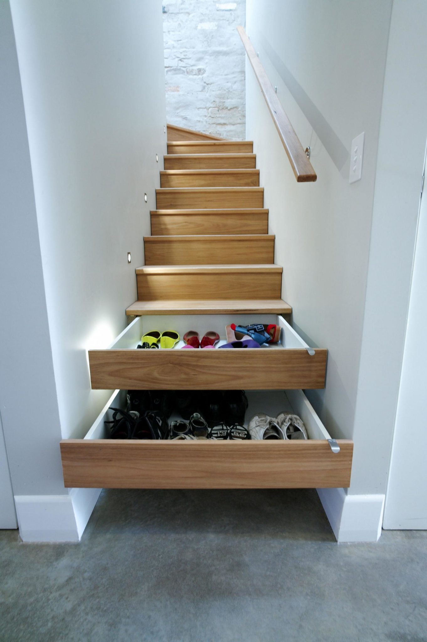 Under step storage solution
