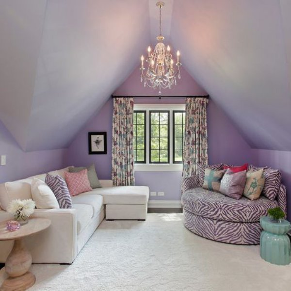 Girls bedroom inspiration for loft conversion