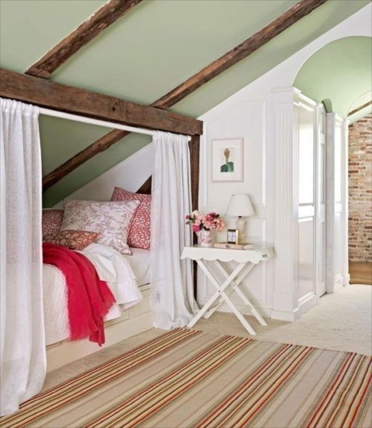 Light green girls bedroom