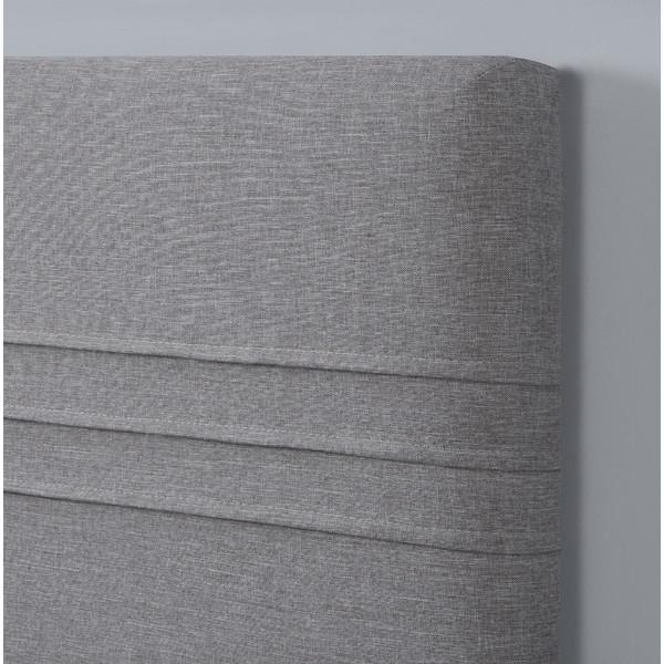 Grey headboard in contemporary design