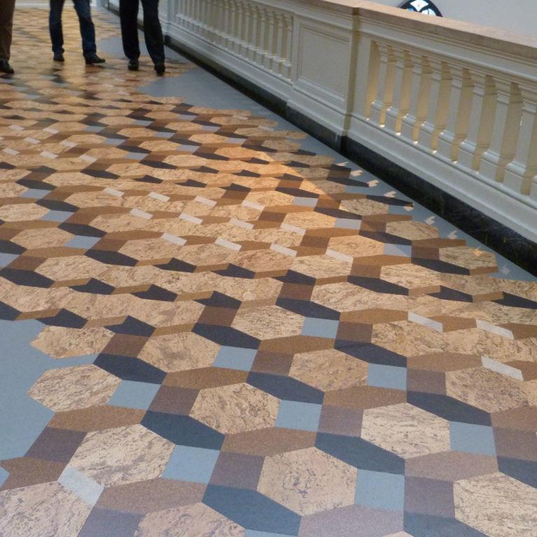 cork floor design inspiration