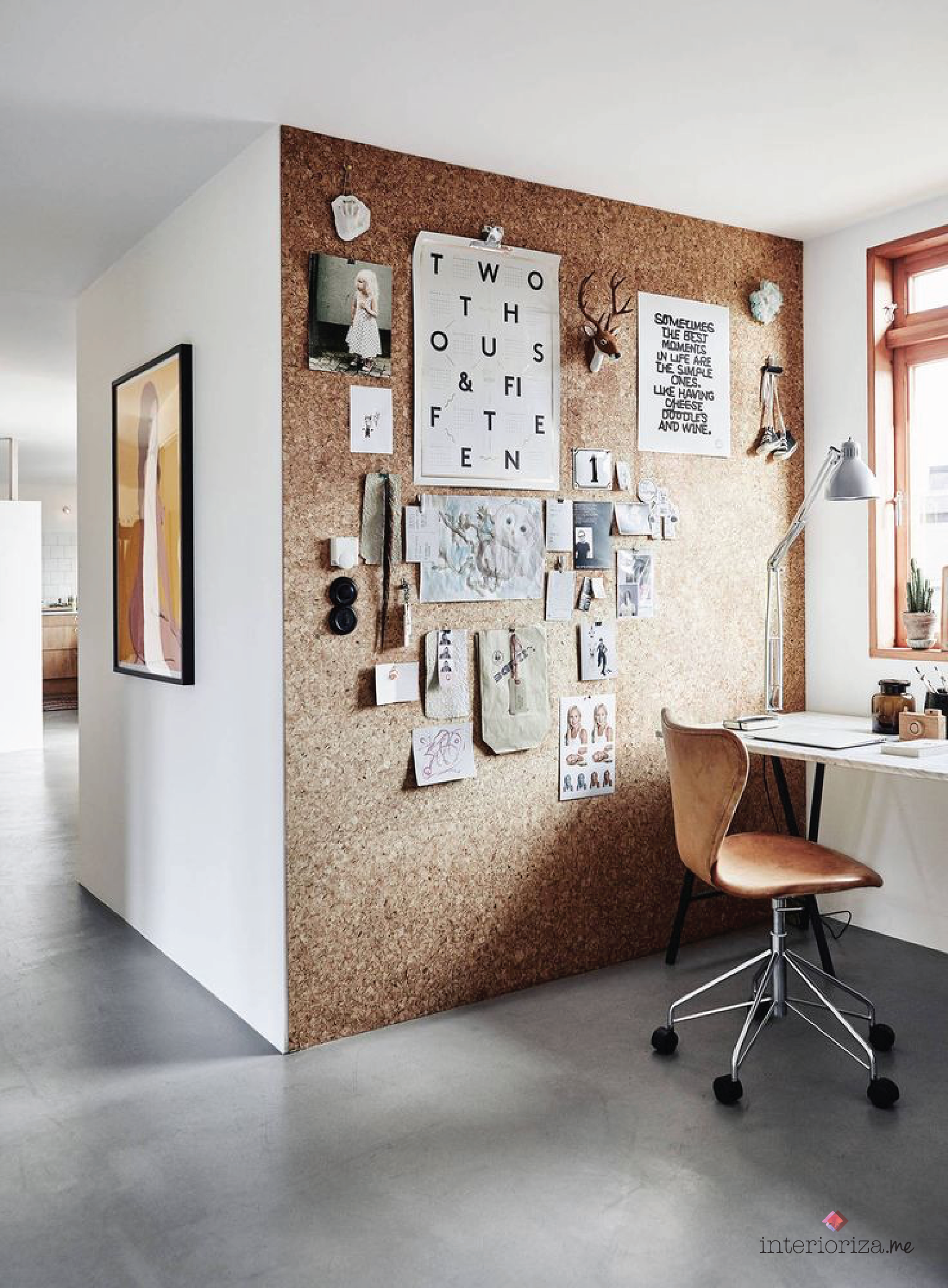 interior design inspiration cork