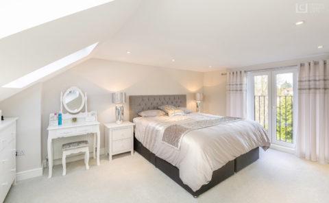 Romford Loft Conversion master ensuite bedroom