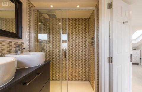 Romford Loft Conversion luxury bathroom