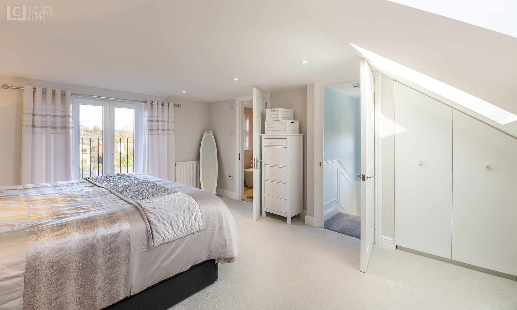 Romford Loft Conversion master ensuite bedroom 1