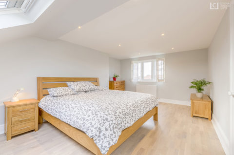 Eltham Loft Conversion Bedroom 1