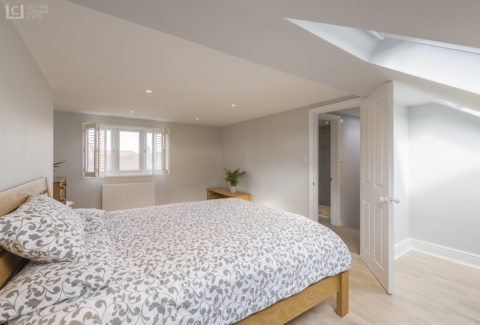 Eltham Loft Conversion Bedroom 4