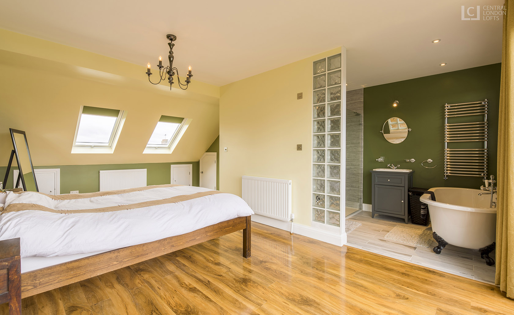 Wimbledon Chase Loft Conversion Bedroom & Bathroom