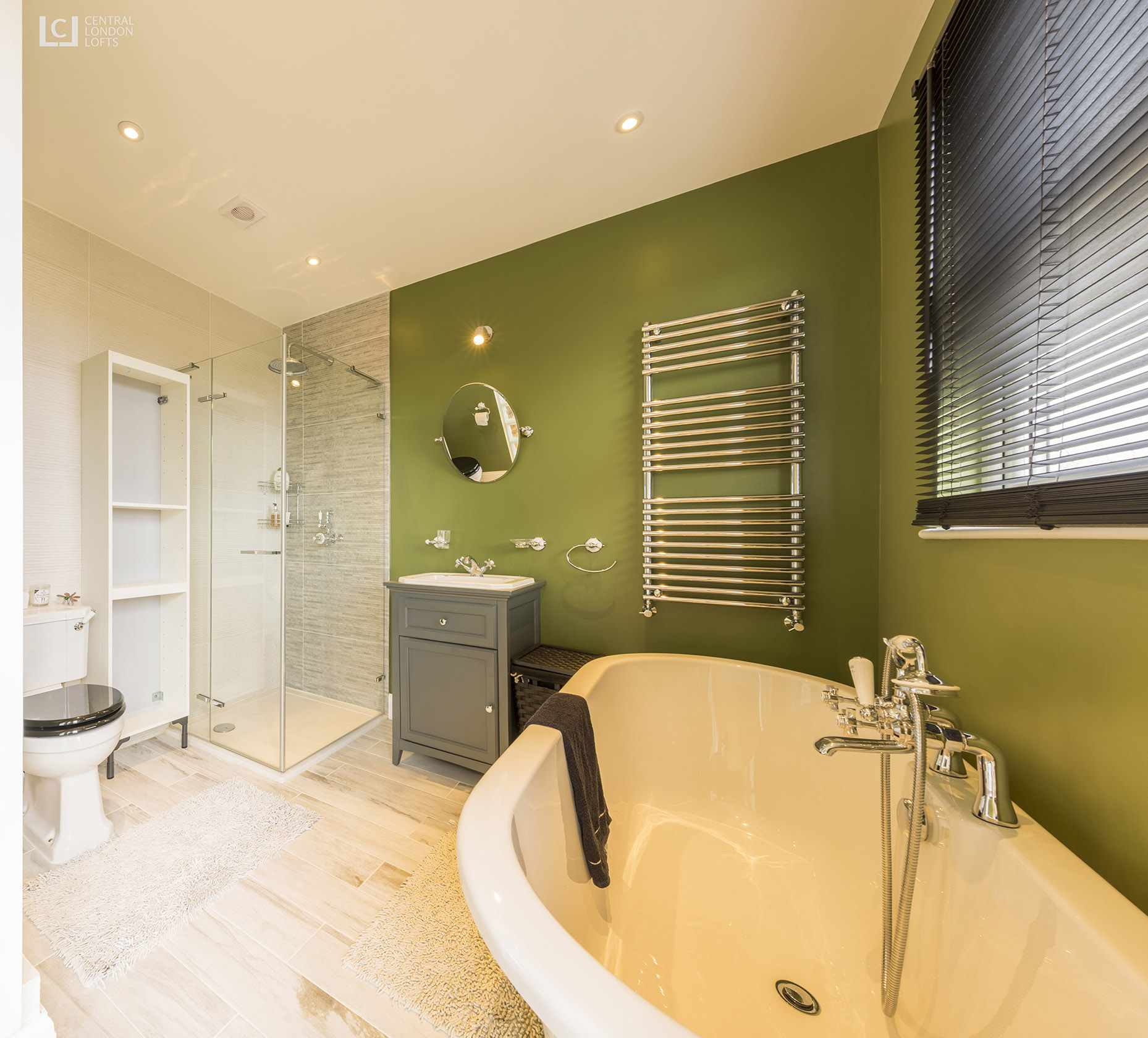 Wimbledon Chase Loft Conversion Bathroom 1